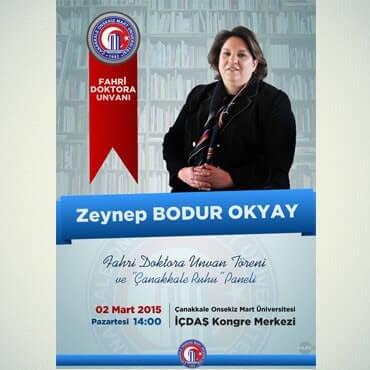 ZEYNEP BODUR OKYAY / AFİS